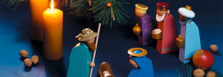 Dekoration aus Holz Weihnachten - Gablenz GmbH