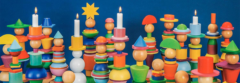 Holz Steckfiguren für Kinder - Gablenz GmbH